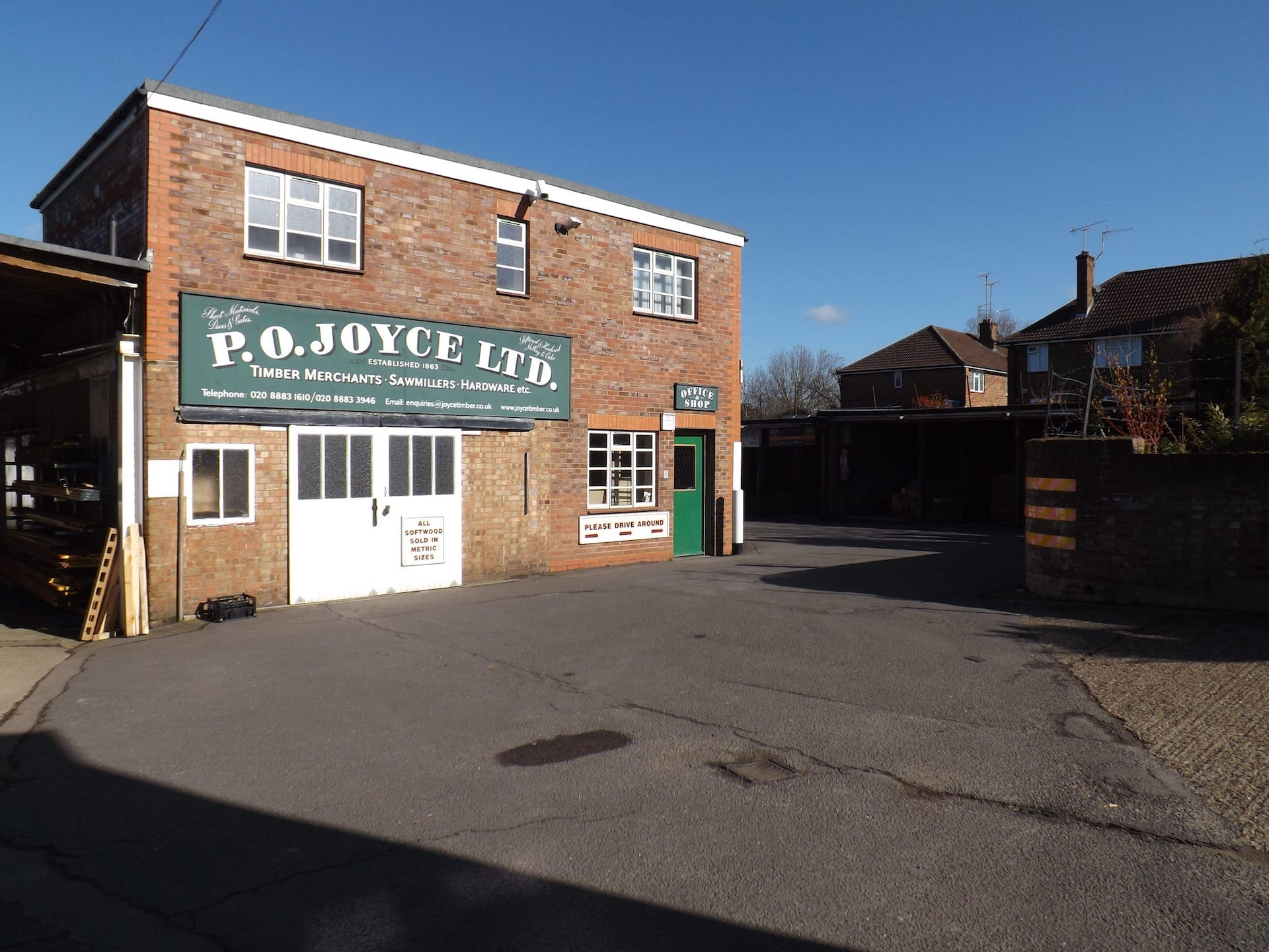 P.O. Joyce - Timber Merchants in London